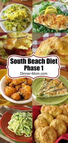 South Beach Diet Phase 1 Recipes from The Dinner-Mom! Perfect for low-carb and k., South Beach Diet Winkel 1 Recipes from The Dinner-Mom! Perfect for low-carb and k. South Beach Diet Winkel 1 Recipes from The Dinner-Mom! Clean Eating, Healthy Eating, Eating Vegan, Healthy Food, Menu Dieta, Atkins Recipes, Atkins Diet Recipes Phase 1, Beach Meals, Ketogenic Diet Plan