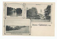 Gablauken, Gutshaus, Waldhaus und Geserichsee