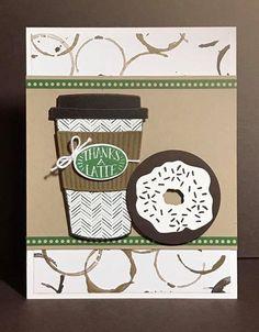 Coffee Cafe SU Paper Pumpkin Donut  credit to Sherri  Everette