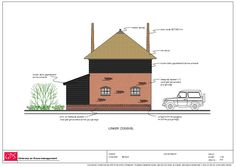 Hooiberg garage Meteren Future House, Tiny House, Cabin, House Styles, Home Decor, Decoration Home, Room Decor, Cottage, Interior Decorating