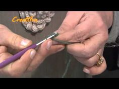 video tutorial laccio ad uncinetto crochet rope.flv - YouTube