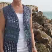 Crochet Patterns Vest Looking for your next project? You& going to love Crocheted Vest by design. Cardigan Au Crochet, Gilet Crochet, Crochet Vest Pattern, Crochet Jacket, Crochet Cardigan, Crochet Shawl, Knit Crochet, Crochet Patterns, Crochet Vests