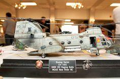 Boeing Vertol CH-46 Sea Knight 1/35 Scale Model