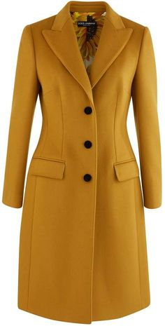 Buy DOLCE & GABBANA Wool coat online on Shop the latest trends - Express delivery & free returns. Winter Coats Women, Coats For Women, Jackets For Women, Suede Trench Coat, Business Attire, Business Women, Coat Dress, Outerwear Women, Clothes