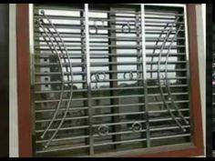 Home Window Grill Design, Modern Window Design, Iron Window Grill, Grill Gate Design, Window Grill Design Modern, Balcony Grill Design, Door Gate Design, Modern Windows, House Grill Design