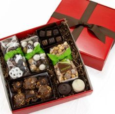 Read how Sweettrio, an artisan chocolate business, located in Grafton, WI uses Nashville Wraps Decorative Shipping Boxes for gourmet gift sets.