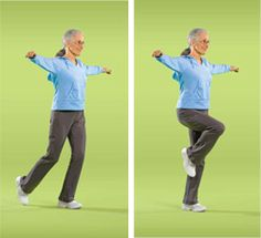 Balance Exercises can be some of the most useful for seniors. Check out these examples and have a fit and safe weekend! -C4L #Go4Life, #Caregiving, #Weekend