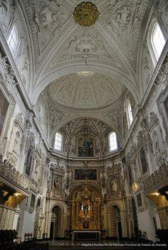 Interior de la Iglesia del Monasterio de la Cartuja