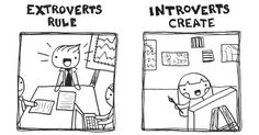 Rules the World? Introverts or Extroverts? #fashion #art #Life