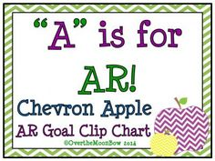 This is a great visual reminder of your students' hard work and steps toward their reading goals! This colorful, Chevron Apple themed resource includes various options for point increments and tracking based on your grade level and reading goals.