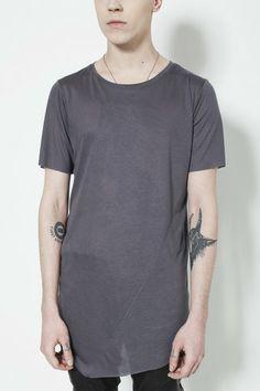 Bias T in Grey, Machus, Machus clothing, Ovate, Ovate clothing, Portland men's store – machus
