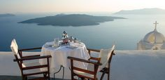 #rethink_hotels  private balcony with a view  Aigialos, Santorini Greece