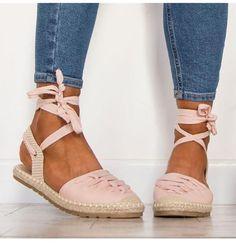 9f6a9c4d037 Patent Lace Up Flat Espadrille Sandals 3 Colors