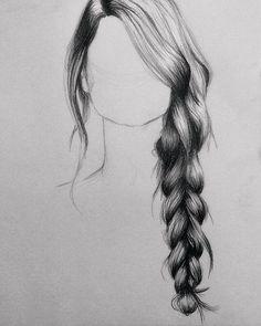 hair drawing 5