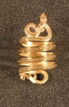 KOKET Snake ring Snake and Roman