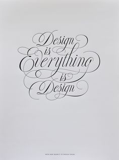 Detailed lettering inspired by Doyald Young (done by Jessica Hische and Josh Higgins; found on Grain Edit).