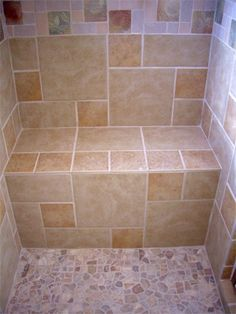 custom tile shower with bench joemma beach bathroom remodel tiled slate mud pan for shower