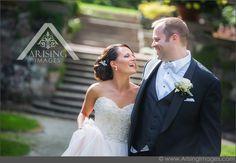 Candid wedding photography  #ArisingImages #WeddingPhotography #Michigan #RoyalOak  #WeddingDress #Stunning #BrideAndGroom #Candid #Laughing #happy