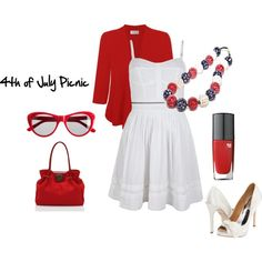 4th of July Picnic style ideas featuring the Audrey Hepburn Rainy Day necklace from www.gandharadesigns.com
