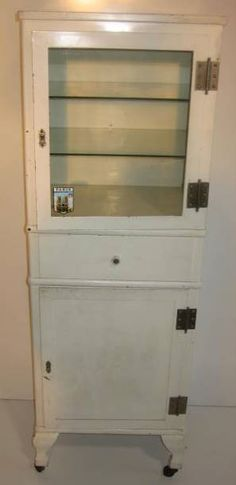 vintage pharmacy cabinet