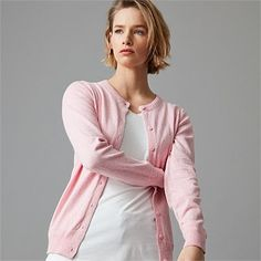 New Season Women's Fashion Clothing | Wild South - CASHMERE COTTON CREW CARDI