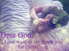 Can never thank Him enough for the miracles in my life!