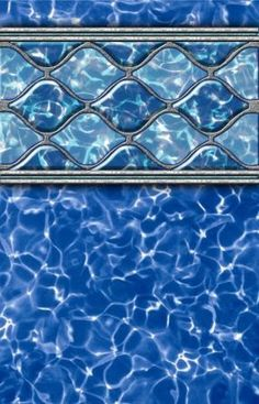 Diamond Wave Prism - Beaded Liner 52 inch Standard Specifications - 24 ft  Round Used for new pool construction,