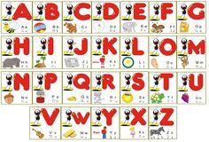 cantinho analyu: Cartaz Alfabeto Smilinguido                                                                                                                                                                                 Mais
