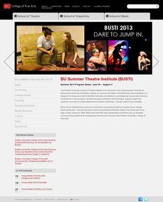BU Summer Theatre Institute (BUSTI)