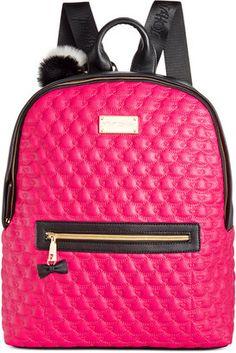 """Betsey Johnson Betsey Johnson Backpack "" https://www.shopstylecollective.com/search?fts=betsey%20johnson"