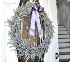 One more thing to do with the lavender from my garden.