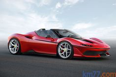 km77.com - Ferrari J50 Gama J50 Gama J50 Descapotable Exterior Frontal-Lateral 2 puertas