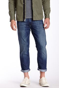 Zach Straight Leg Jean