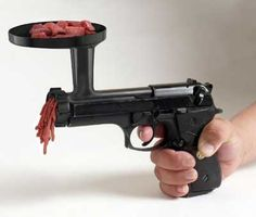 Meat grinder gun   CribcandyThe Best from Household and Interior Design Blogs Around the World, Every Day