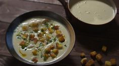 This creamy soup is a luxurious winter dish that can easily be jazzed up for guests. Soup Recipes, Healthy Recipes, Healthy Food, Curried Cauliflower Soup, Winter Dishes, James Martin, Boxing Day, Home Comforts, Cheeseburger Chowder