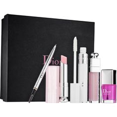 Dior Backstage Pros Gift Set ($151) ❤ liked on Polyvore featuring beauty products