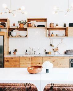 Minimal home decor #inspo #style Modern Kitchen Design, Interior Design Kitchen, Interior Decorating, Decorating Kitchen, Kitchen Designs, Modern Interior, Modern Decor, Modern Design, Ikea Kitchen
