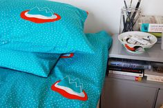 Gunila Axén Bed Cushions, Pillows, Turquoise, The Help, Duvet, Home And Garden, Blanket, Fabric, House