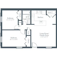 2 Bedroom Apartment Design Image Galleries: 2 bedroom apartment design