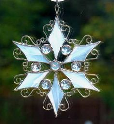 stained glass ornament I love it!!