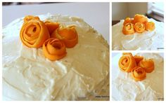 Fresh Orange and Vanilla Cake from @asullivan85 YUM