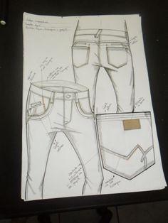 desenho  de calça masculina inverno 2014