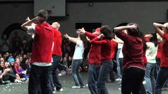 WGSS Teacher Skit Flash Mob - Don't Stop Believin' (Glee) - Christmas Sk...