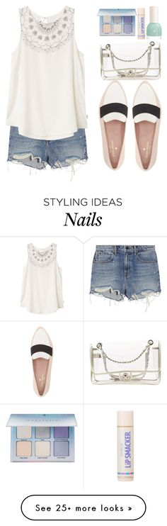 """""""Going out"""" by stevie-pumpkin on Polyvore featuring Alexander Wang, RVCA, Kate Spade, Chanel and Anastasia Beverly Hills"""