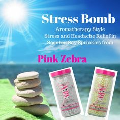 Aromatherapy with Pink Zebra Sprinkles Stress Relief Pink Zebra Party, Pink Zebra Home, Pink Zebra Sprinkles, Pink Zebra Consultant, Sprinkles Recipe, Everything Pink, Smell Good