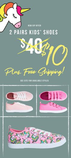 Shop the Best Kid's Styles this Year at FabKids! - New VIP Offer: Get 2 Pairs of Shoes for Only $9.95 + FREE SHIPPING! Just Take Our 60 Second Style Quiz!