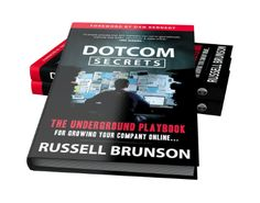"""Claim Your FREE Copy Of DotCom Secrets by Russell Brunson! The Underground Playbook For Growing Your Company Online. """"A simple process that ANY company can use to geometrically improve their traffic, conversion and sales online. Internet Marketing, Online Marketing, Digital Marketing, The Secret Book, The Book, Delete Pin, Free Books, Online Business, Business Women"""