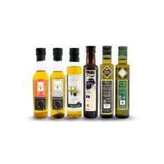 Pack Degustación Hostelería. Disfruta de estas 6 Botellas 250 ml (1 botella de cada marca) encuentralo en eaceite.com y añade sabor y matices distintos a cada plato! Disfruta su aroma, Siente su sabor!