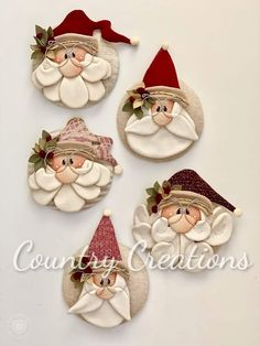 50 Amazing Painted Rocks Houses Ideas You'll Love – Christmas – Noel 2020 ideas Polymer Clay Ornaments, Ornament Crafts, Polymer Clay Crafts, Diy Christmas Ornaments, Christmas Art, Christmas Projects, Felt Crafts, Holiday Crafts, Gnome Ornaments