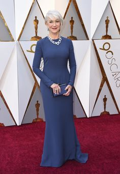 noneHelen Mirren arrives at the Oscars on Sunday, March 4, 2018, at the Dolby Theatre in Los Angeles. (Jordan Strauss/Invision/AP)